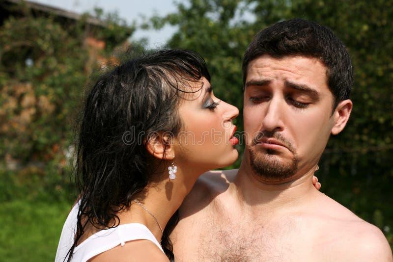bacio non immagini stock libere da diritti