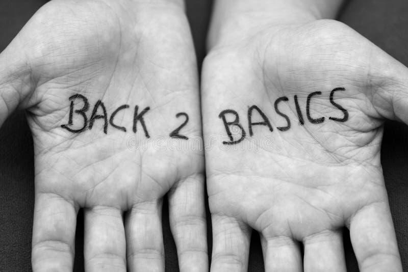Download Back 2 Basics stock photo. Image of basics, message, text - 13327034