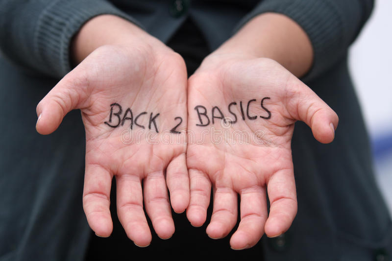 Back 2 Basics stock images