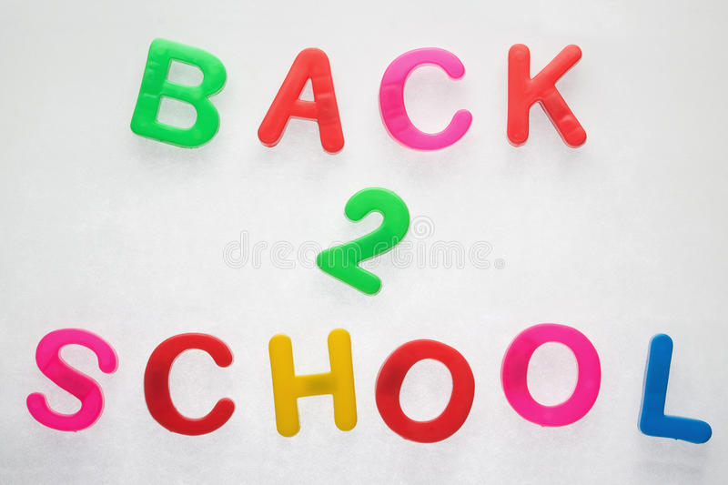 Back 2 School Stock Photo