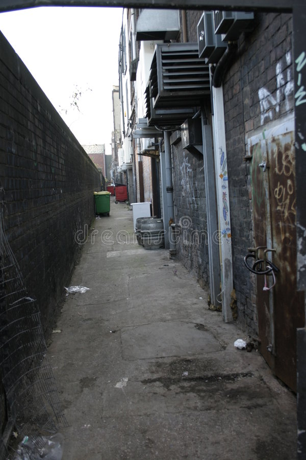 Free Back Alley Royalty Free Stock Photo - 374885