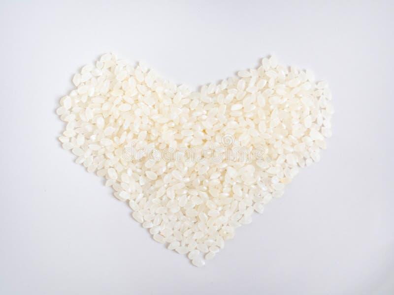 Rice,Isolated on white background,Food material Ingredients. Back, background, background texture, closeup, food, food material ingathering ingredient royalty free stock image