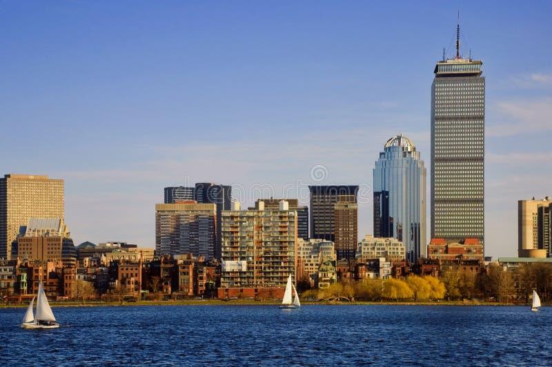 Back Bay Boston Stock Image