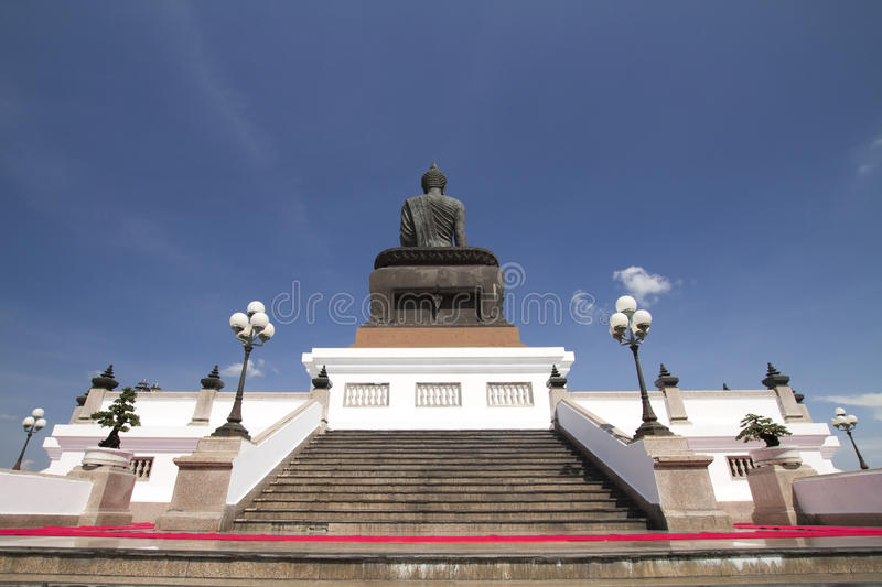 Download Back Big Buddha Image At Phutthamonthon Stock Image - Image: 23771569