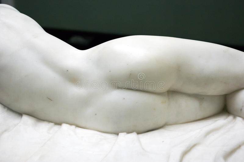 Download Back Of Femine Marble Statue. Stock Photo - Image: 26613626