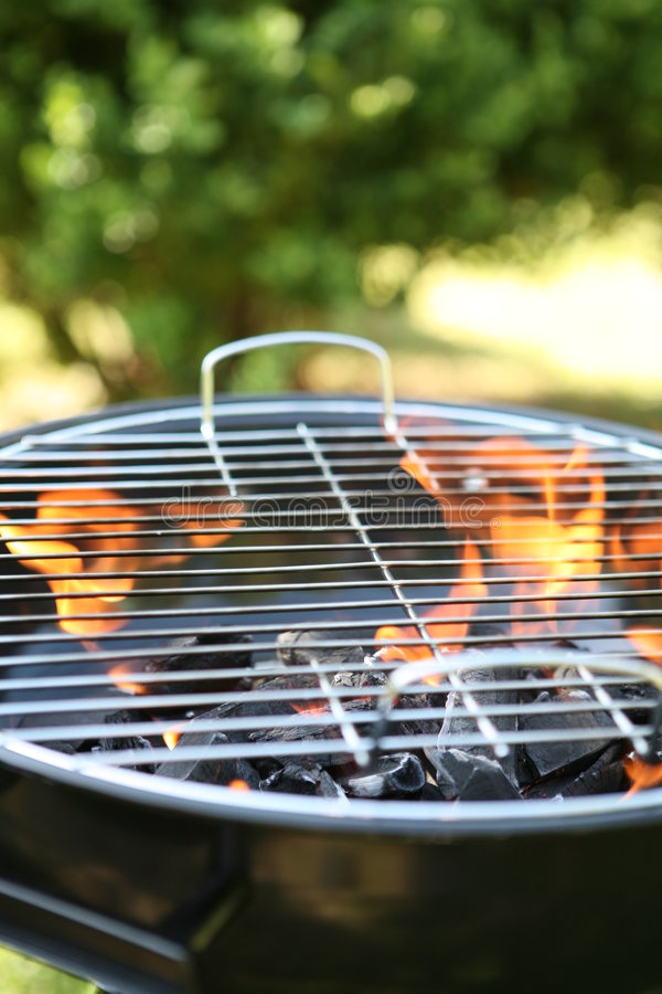 Free Back Garden Barbecue Stock Image - 2418611