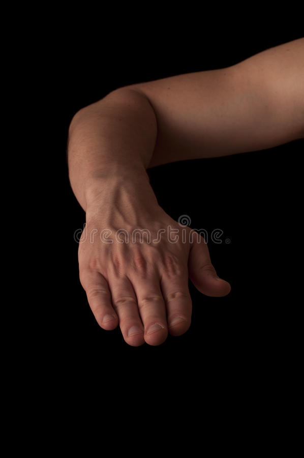 Back of the hand royalty free stock photos