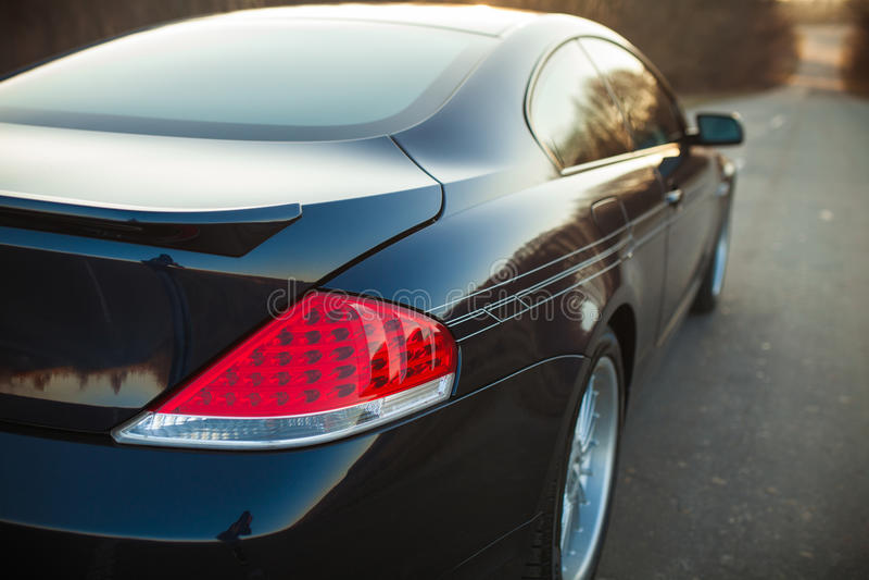 Back headlight of car royalty free stock photos