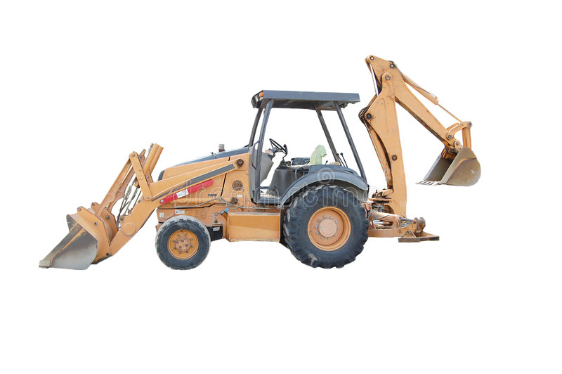 Back Hoe royalty free stock photography