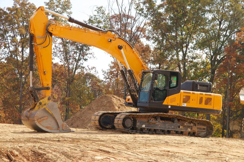 Back Hoe stock photography