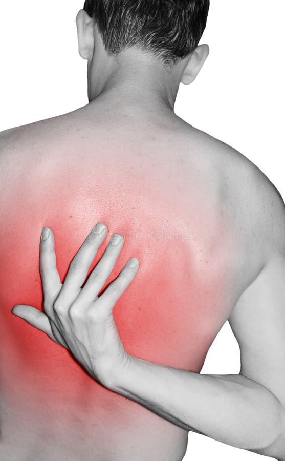 Back injury stock images