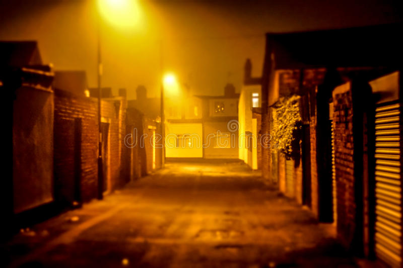Back Lane royalty free stock photography