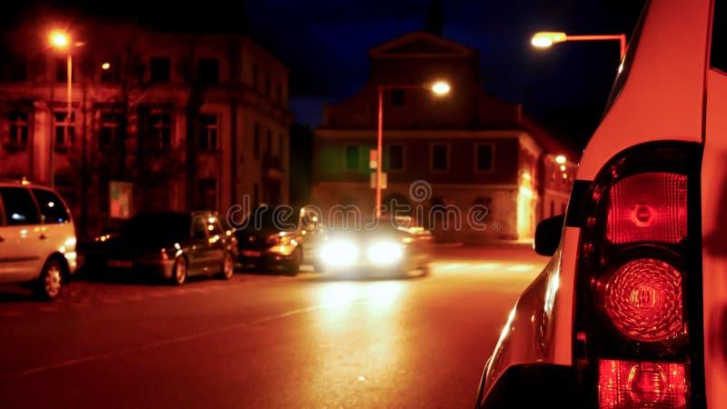 Back Light of Car royalty free stock photos