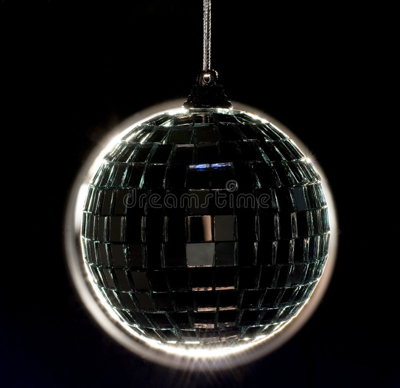 Back Lit Disco Ball Stock Images