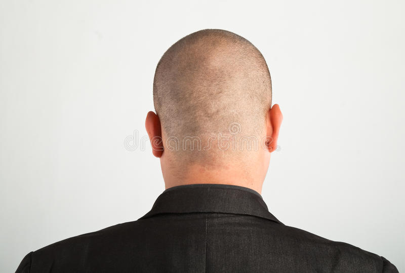 Download Back Of Male Head Stock Image - Image: 9768581