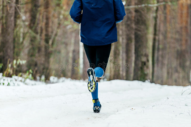 Download Back Male Runner Stock Photo - Image: 83704628