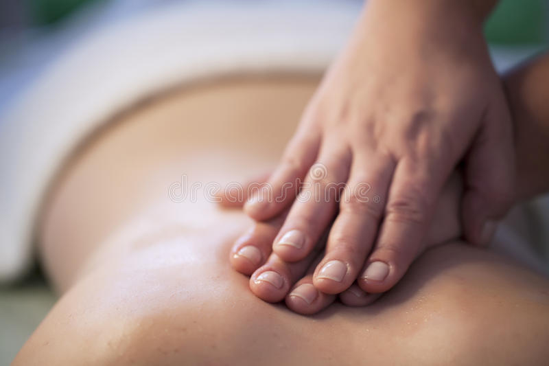 Download Back massage stock photo. Image of closed, hands, healthy - 52152066