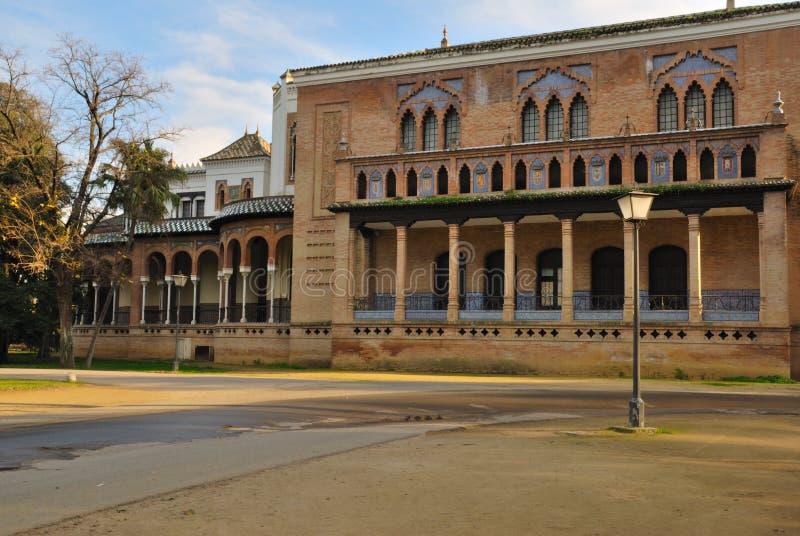 Back Mudejar pavilion stock images