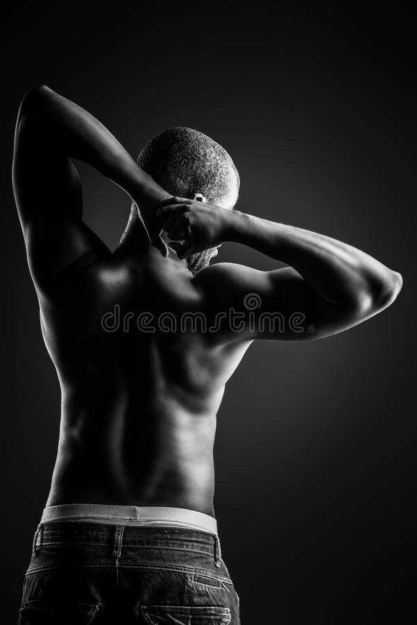 Back Muscles Royalty Free Stock Photo