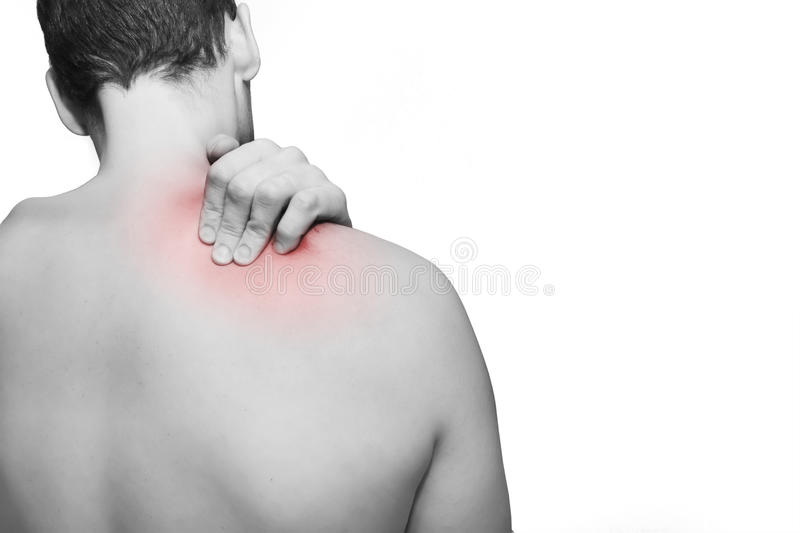 Back / Neck Pain royalty free stock images