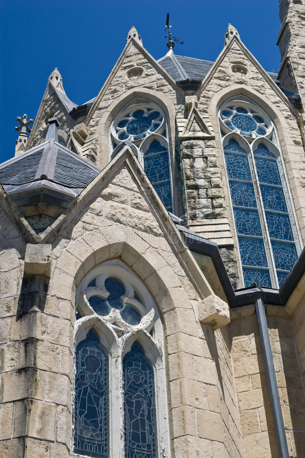 Free Back Of Church In Guelph Ontario Stock Images - 14499604