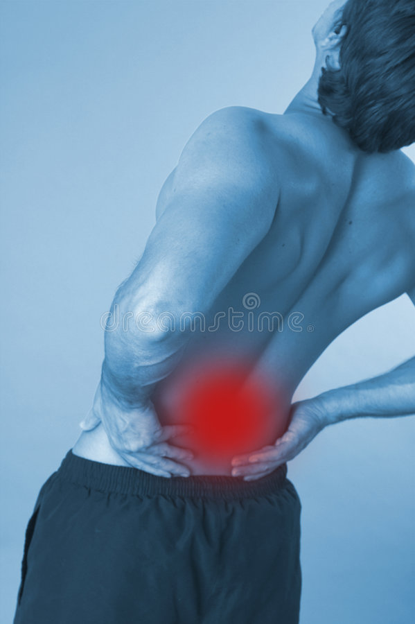 Free Back Over Blue Stock Photo - 2562980