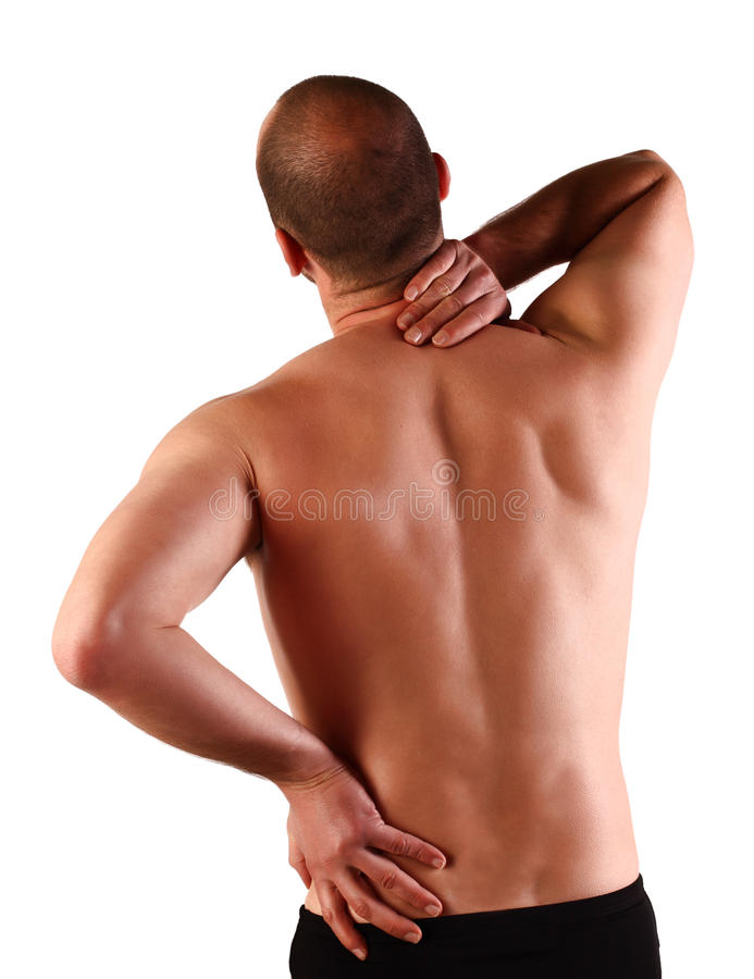 Free Back Pain Stock Photography - 13875082