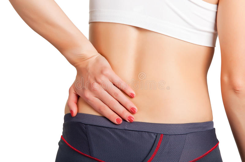 Download Back Pain stock photo. Image of excercise, stress, health - 27700454