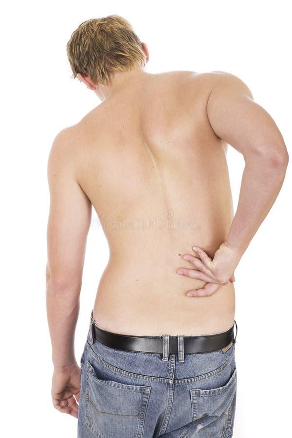 Free Back Pain Royalty Free Stock Photo - 650455