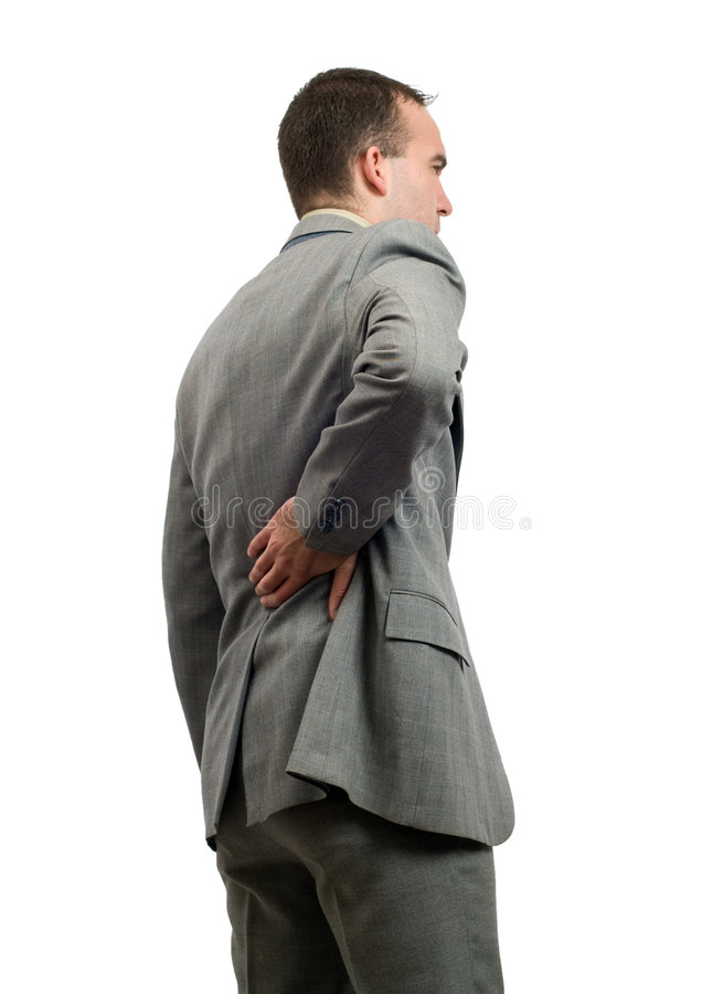 Download Back Pain stock photo. Image of distress, ache, strain - 7693894