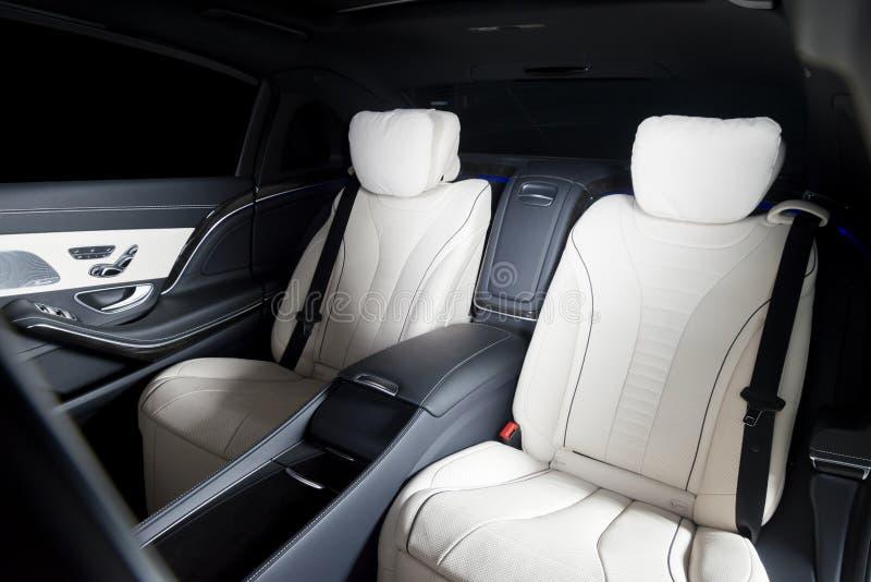 Back passenger seats royalty free stock photography