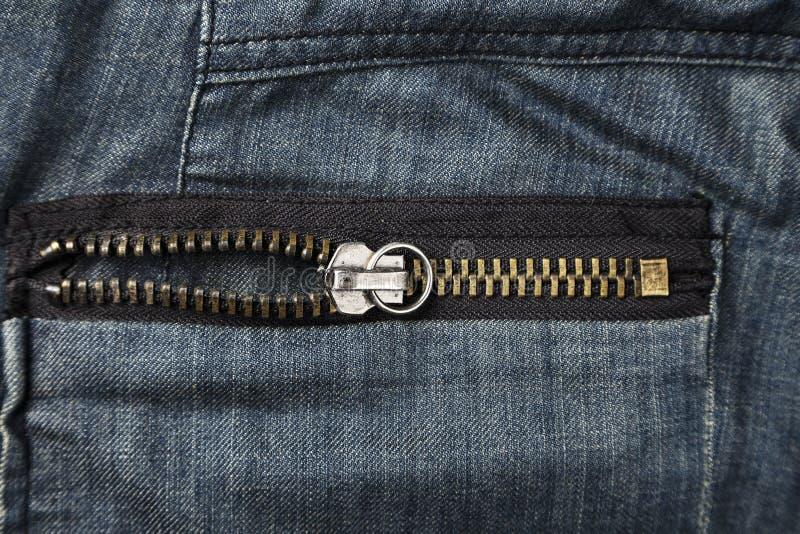 Back pants pocket stock photo