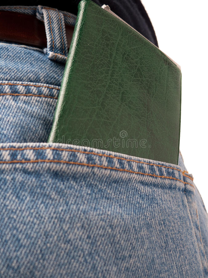 Back Pocket Series - Cheque-book royalty free stock images
