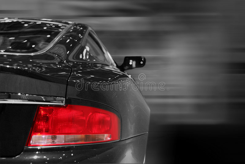 Back portion of a car stock photos
