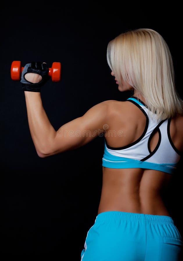 Back Of Athlete Royalty Free Stock Photo