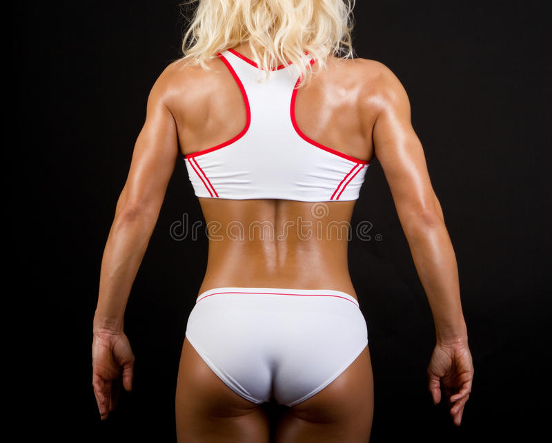 Back Of Athlete Stock Images
