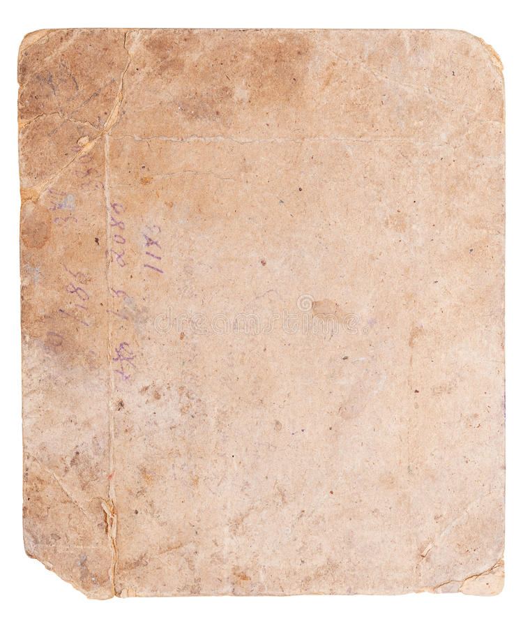 Old reverse side of the photo stock images