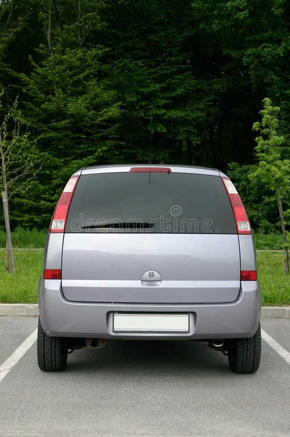 Free Back Side Of Small Van Stock Photo - 166200