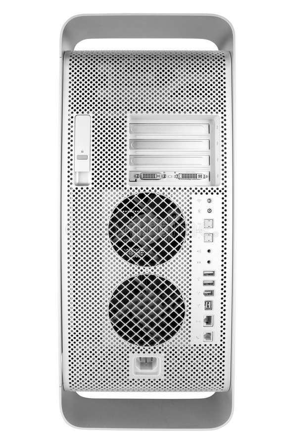 Download Back Of Silver Computer Royalty Free Stock Images - Image: 509339