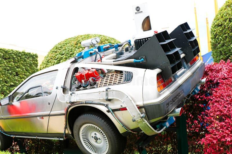 Back to the Future DeLorean royalty free stock photos