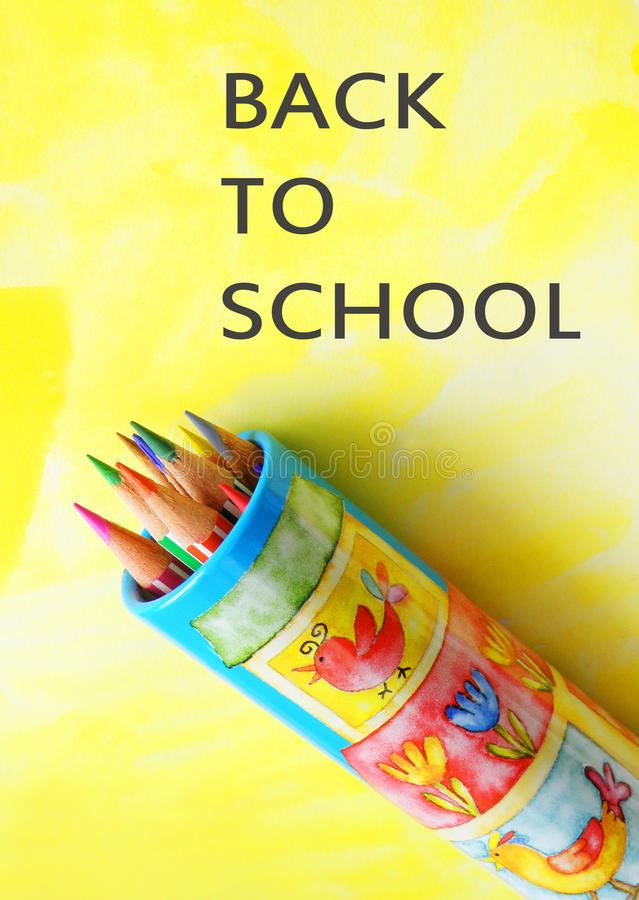 Download Back to school stock image. Image of coloring, cheerful - 13432559