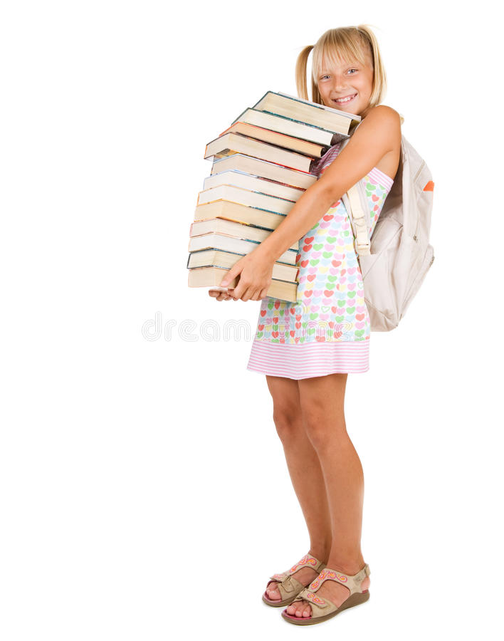 Download Back to School stock photo. Image of child, above, blue - 15472654
