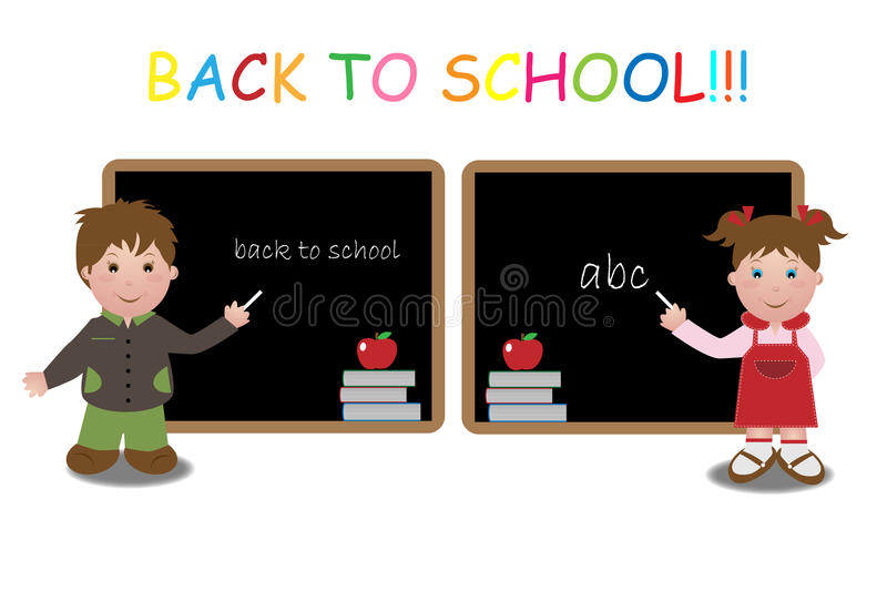 Download Back to school stock vector. Image of cartoon, design - 15552888