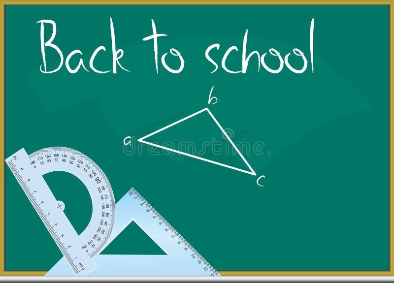 Download Back to school stock vector. Illustration of chalk, border - 19797044