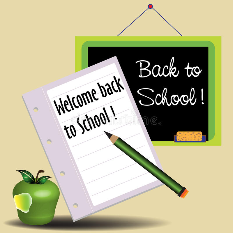 Download Back to school stock vector. Image of artwork, learn - 20655852