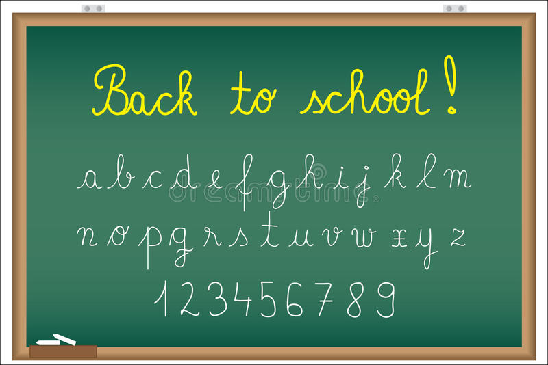 Download Back to school stock vector. Image of board, college - 20881305