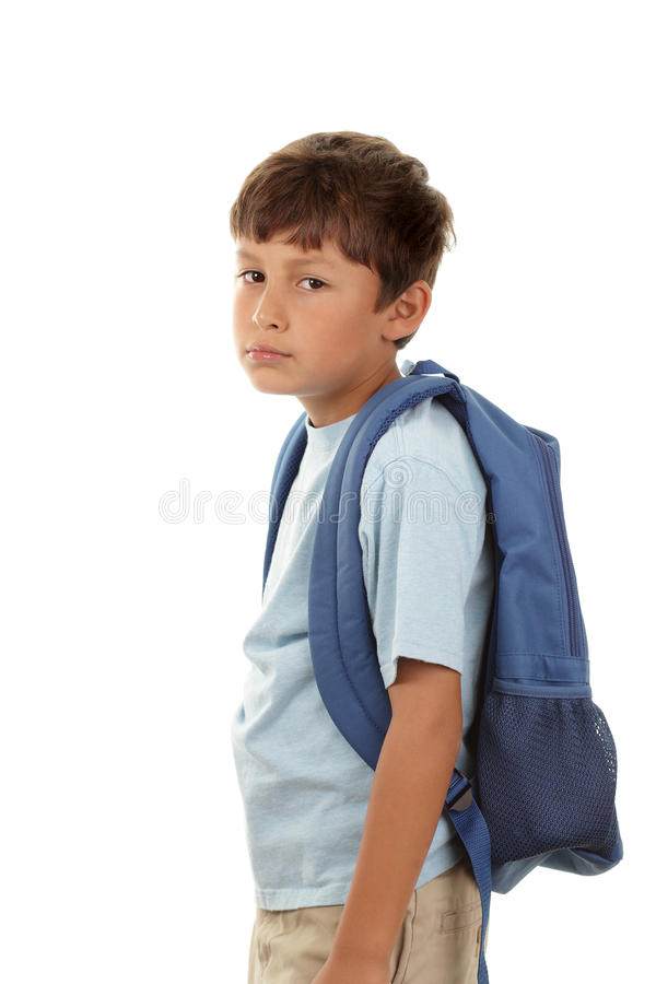 Download Back to school stock photo. Image of young, miserable - 26165290