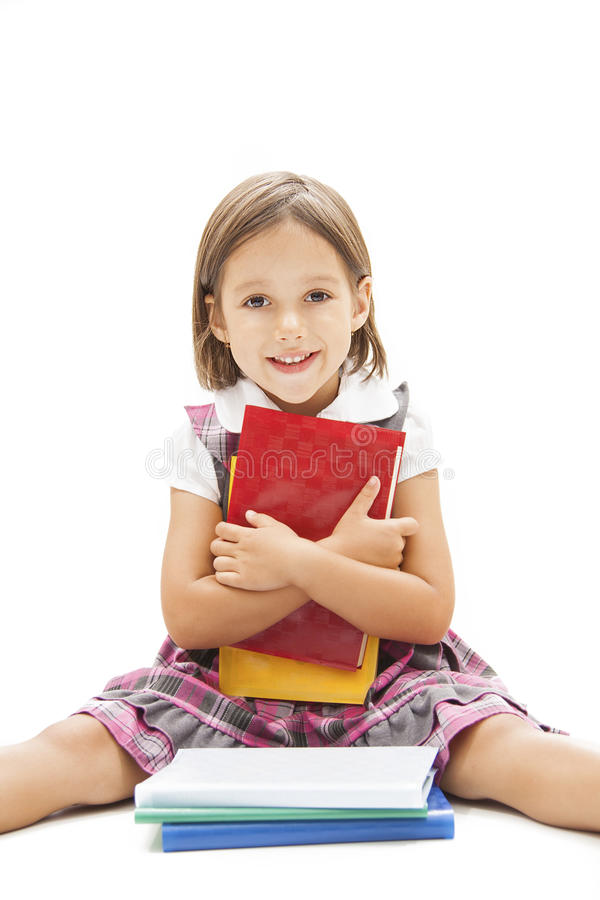 Download Back to school stock image. Image of childhood, hair - 26316377