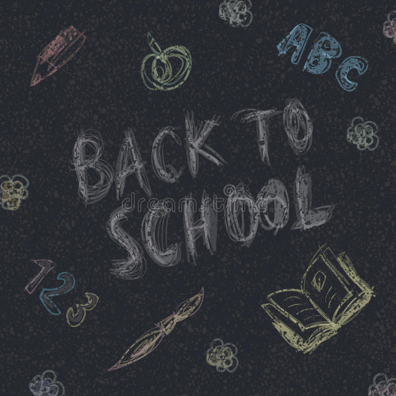 Download Back to school. stock vector. Illustration of black, back - 26532390