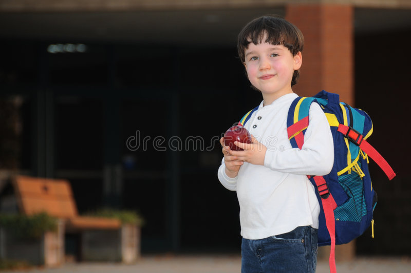 Download Back to School stock image. Image of cheerful, pausing - 6546021